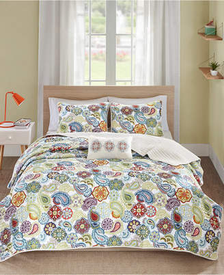 Mi Zone Tamil 4-Pc. Full/Queen Coverlet Set Bedding