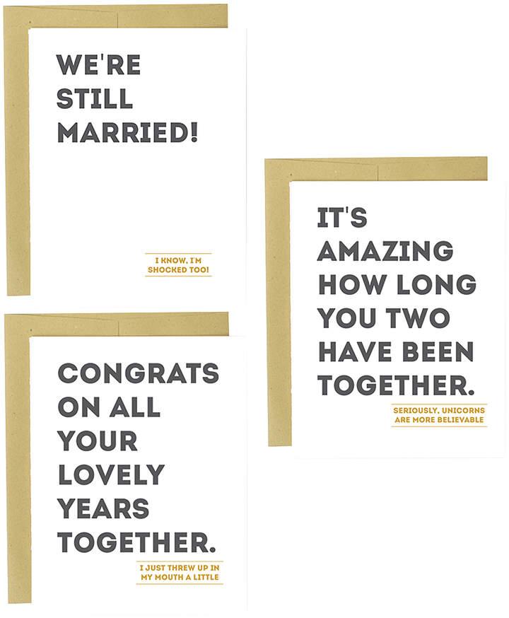Anniversary Greeting Card Set