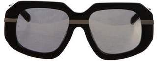 Karen Walker Superstars Creeper Reflective Sunglasses