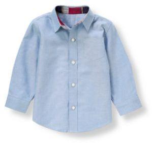 Janie and Jack Oxford Dress Shirt