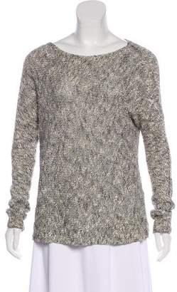Vince Linen-Blend Oversize Sweater