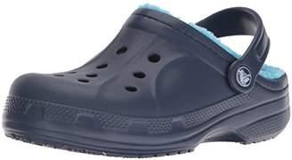 Crocs (クロックス) - [クロックス] クロッグ クロックス ウィンター クロッグ キッズ 203874 Navy/Electric Blue C10/C11(17.5 cm)
