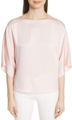 Michael Kors Satin Charmeuse Top
