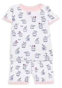 Hatley Little Girl's& Girl's Two-Piece Shorts Pajamas