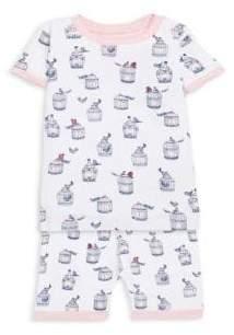 Hatley Little Girl's& Big Girl's Two-Piece Shorts Pajamas
