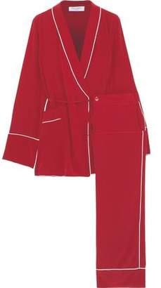 Equipment Washed-Silk Pajama Set