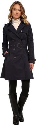 LAUREN Ralph Lauren - Kent Skirted Trench Women's Coat $240 thestylecure.com