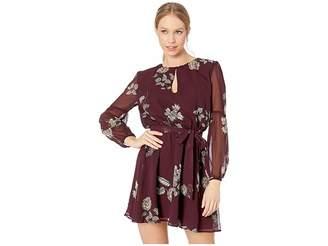 BB Dakota La Vie En Rose Printed Dress