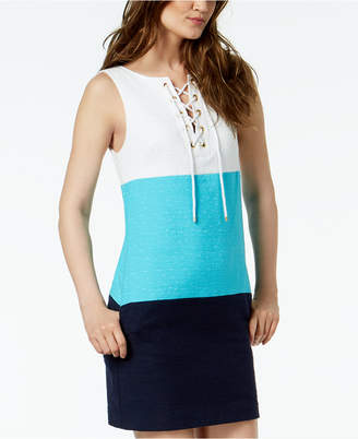 Trina Turk Miss Brady Colorblocked Dress
