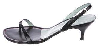 Sigerson Morrison Thong Sling-Back Sandals