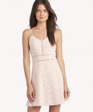 Sole Society Sleeveless Fit and Flare Mono Dress