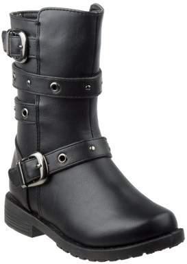 Josmo Eyelet Detail Strap Toddler Girl's Boots