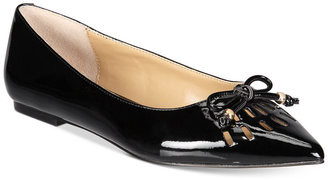 Adrienne Vittadini Fitzi Flats Women's Shoes $99 thestylecure.com