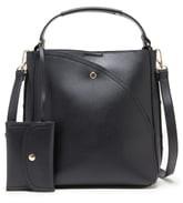 Sole Society Hingi Faux Leather Shoulder Bag