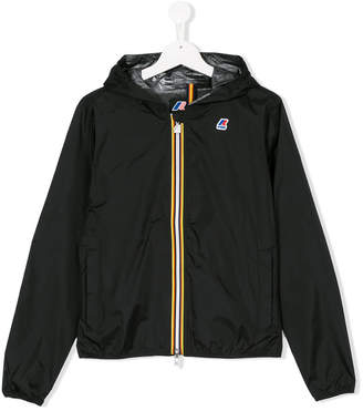 K Way Kids TEEN rainwear zip up jacket