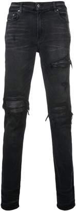 Amiri ripped slim fit jeans
