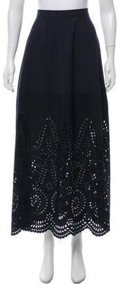 Stella McCartney Embroidered Midi Skirt