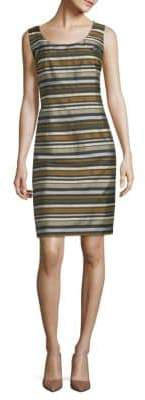 Lafayette 148 New York Rebecca Striped Sheath Dress