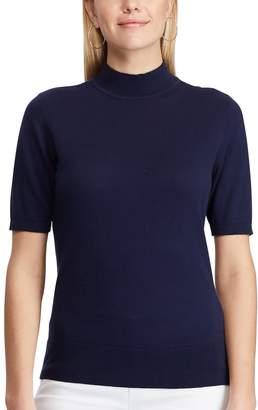 Chaps Women's Mockneck Sweater