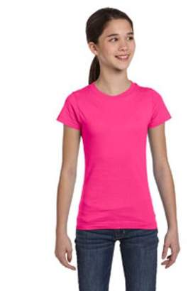 Lat LAT Girls' Fine Jersey T-Shirt