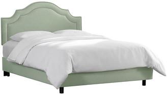 One Kings Lane Bedford Bed - Mint Linen