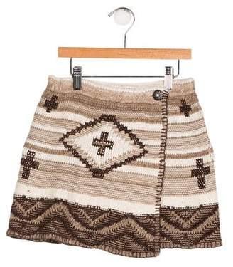 Polo Ralph Lauren Girls' Knit Patterned Skirt