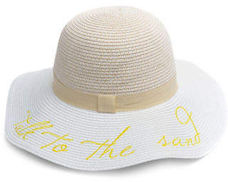 f9f4e6c7e1e9c ... Line Handcrafts Straw Hats With A Black Ribbon Band Sporting Trendy  Phrases. Floppy Hats They Re Gangsta Funny All The Time