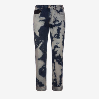 Printed Denim Jeans $750 thestylecure.com