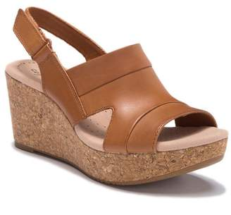 0d3f5a594 Clarks Annadel Ivory Wedge Sandal - Wide Width Available