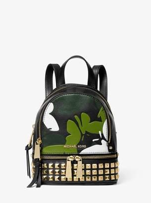 2da1f2a75e8 MICHAEL Michael Kors Rhea Mini Butterfly Camo Leather Backpack
