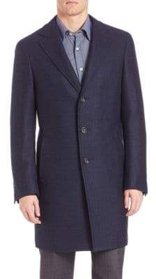Canali Wool Topcoat