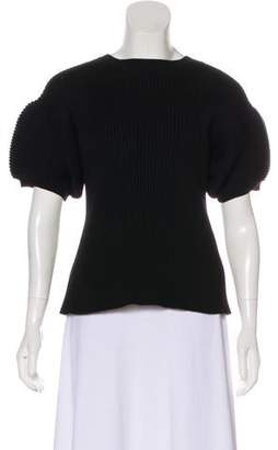 Sacai Luck Knit Short Sleeve Sweater