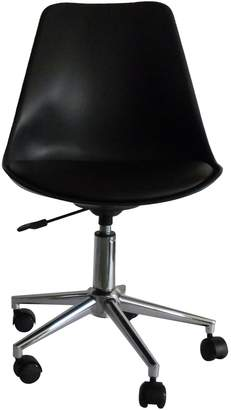LDWI Office Chairs Mora Gas Lift Office Chair, Black