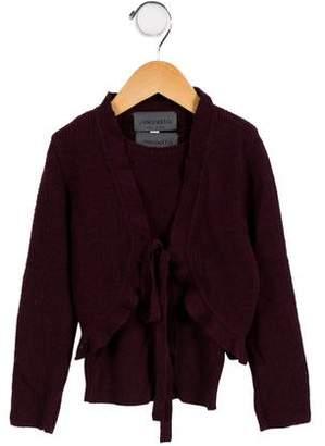 Simonetta Kids Girls' Wool Cardigan Set