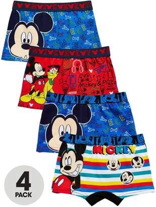 Trunks Mickey Mouse 4 Pack