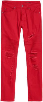 H&M Biker Jeans - Red
