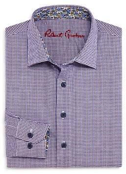 Robert Graham Boys' Patterned Dress Shirt - Big Kid
