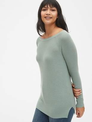 Gap True Soft Mix-Stitch Boatneck Pullover Sweater