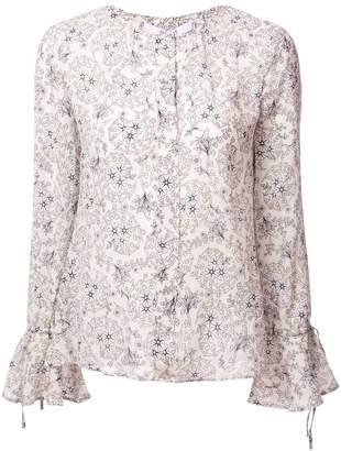 Derek Lam 10 Crosby Bell Sleeve blouse