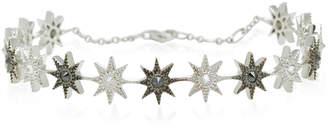 Colette Jewelry Glow Star 18K Black And White Gold Diamond Bracelet