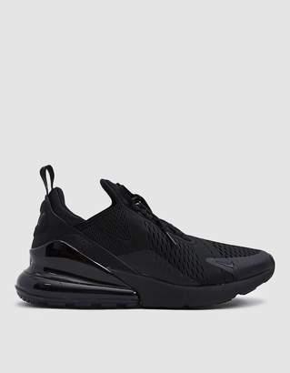 Nike 270 Sneaker in Black/Black