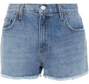 Joie Shayna Frayed Denim Shorts