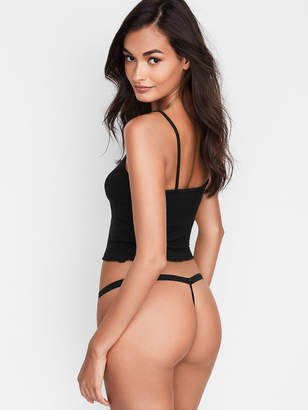 Victoria's Secret Stretch Cotton V-string Panty