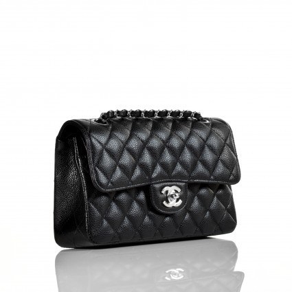 Chanel excellent (EX Classic Small Caviar 2.55 Flap