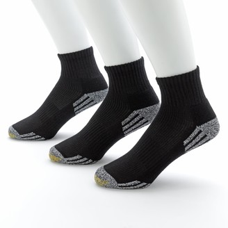 Gold Toe Goldtoe Men's GOLDTOE 3-pk. G-Tec Outlast Quarter Athletic Socks