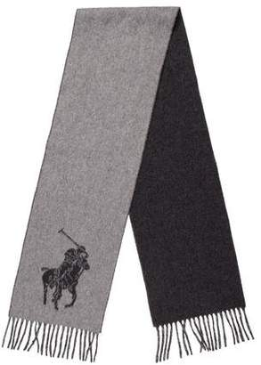 Polo Ralph Lauren Lambswool Logo Scarf