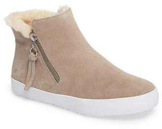 Rebecca Minkoff Shelly High Top Faux Fur Lined Sneaker
