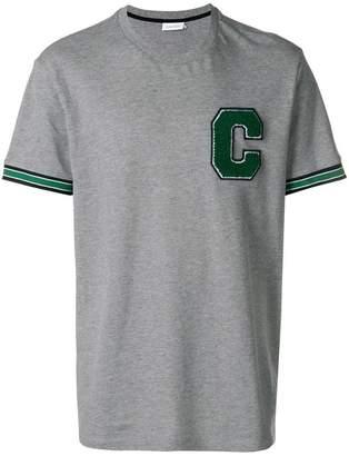 CK Calvin Klein felt logo T-shirt
