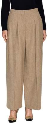 Valentino Women's Herringbone Pleated Pant