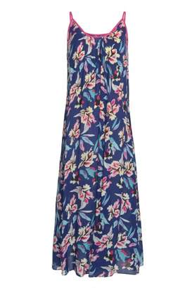 Libelula Aimie Maxi Dress - 38 - Blue/Pink